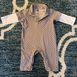 Tea Collection One Pieces - Tea Collection 3-6 months Polo Romper